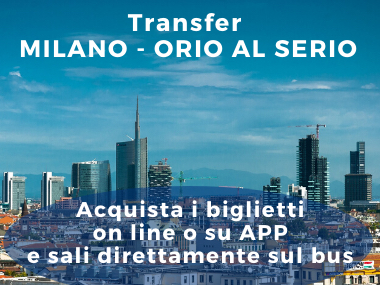 Orio al Serio Airport - Milan City Center